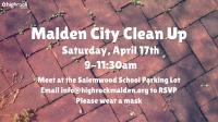 Malden City Trash Clean Up