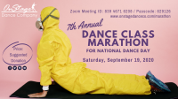 7th Annual Dance Class Marathon - VIRTUAL