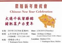 Chinese New Year Celeberation