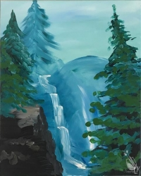 Paint and Sip:  Misty Falls