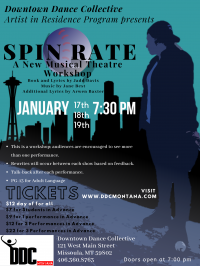 Spin Rate: A New Musical Theatre Workshop