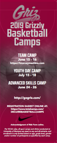 grizzly basketball advanced skills camp