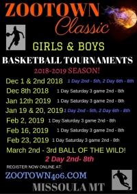 Zootown Classic Basketball Tournament!
