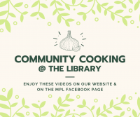 Community Cooking at the Library: Pizza, Out of the Box!