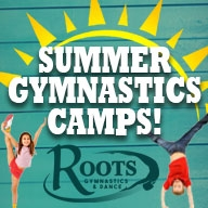 Roots Dinosaur Day Gymnastics Camp