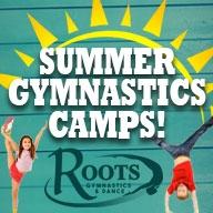 Roots Wacky Wednesday Gymnastics Camp