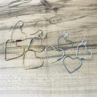 Hammered Heart Earrings w/Erin (Beginner Class)
