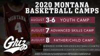 university of montana basketball father/child camp