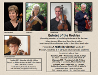 Quintet of the Rockies - A Night in Vienna!