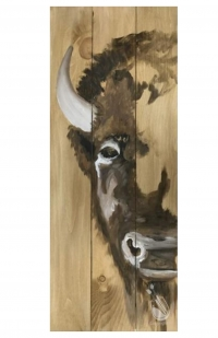 Paint and Sip: Real wood board Buffalo