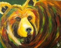 Paint and Sip:  Let's Bear It