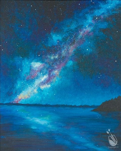 Paint and Sip: A Milky Way Swim