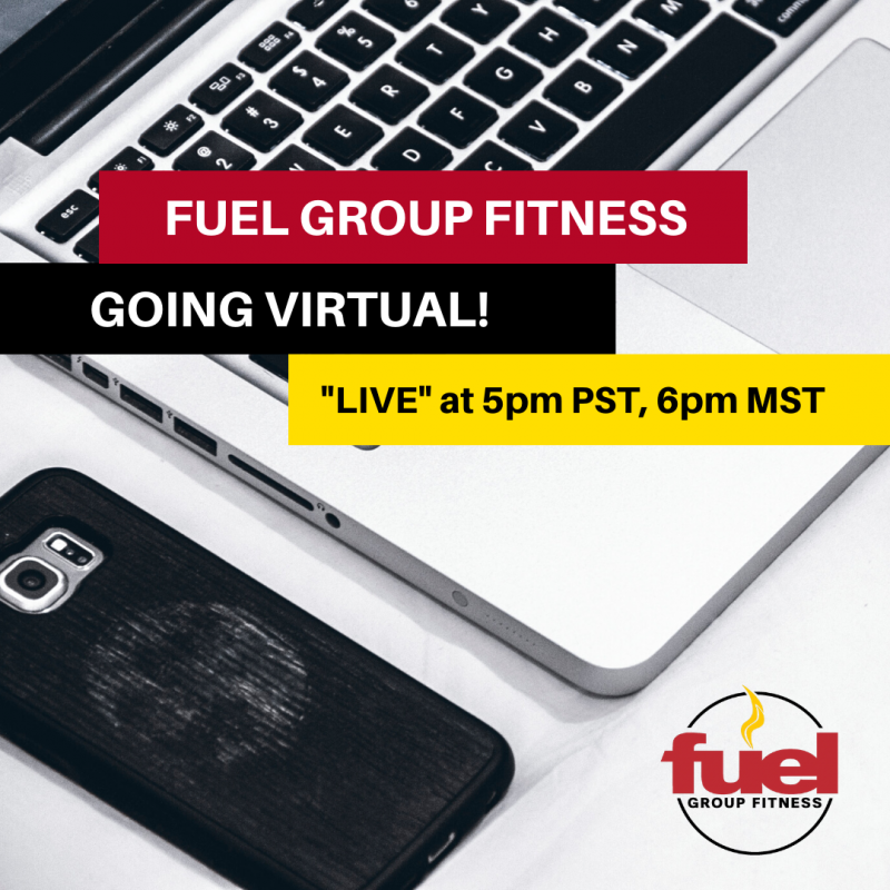 Live Group Fitness Classes from Fuel Fitness