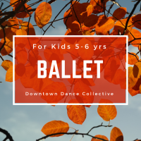 Ballet Dance Class for Kids 5-6 Yrs