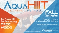 AquaHIIT @ University of Montana Grizzly Pool