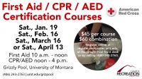 First Aid / CPR / AED Certification