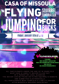 CASA Flying Squirrel FUNdraiser