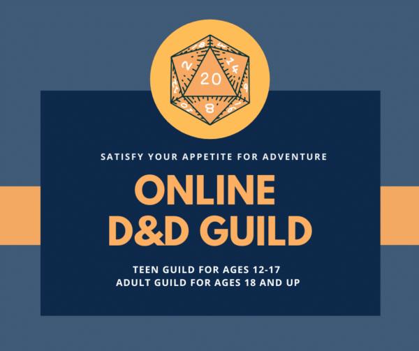 Online Teen D&D Guild