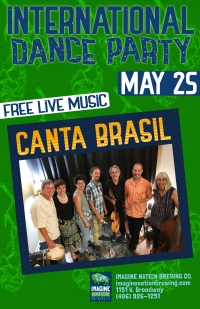 International Dance Party with Canta Brasil