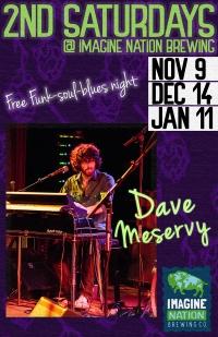 Dave Meservy - Funk, Soul, Blues Night