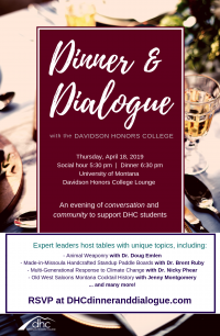Davidson Honors College Dinner and Dialogue