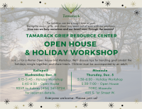 Holiday Workshop and Open House