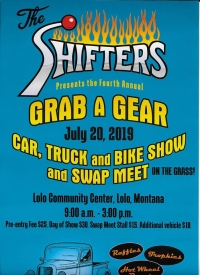 The Shifters of Lolo: Grab a Gear Car Show
