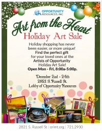 Art From the Heart Holiday Art Sale