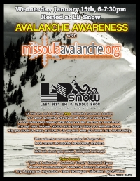 avalanche awareness with missoulaavalanche.org