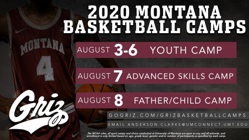 university of montana mens basketball youth camp