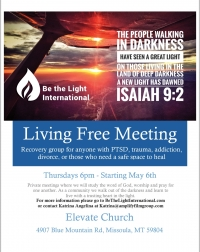 Living Free Recovery Meeting
