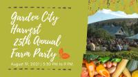 Garden City Harvest's Farm Party