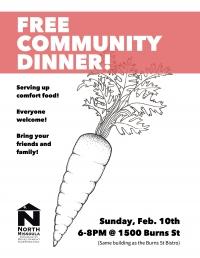 Community Dinner!