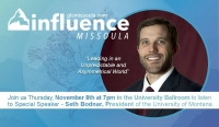Leadership Night with UM President Seth Bodnar