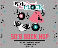 50's Sock Hop Dance