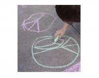 Teen Artist Workshop - Wage Peace Mural