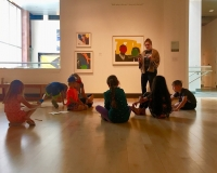 Saturday Family Art Workshop - Wage Peace Mural