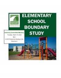 MCPS Elementary Boundary Study, Advisory Meeting