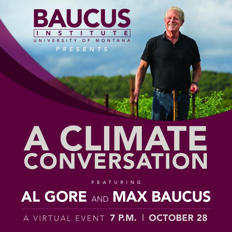 A Climate Conversation feat. Al Gore & Max Baucus