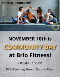 Brio Fitness Community Day