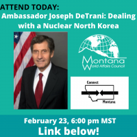 Connect Montana: Dealing With a Nuclear North Korea