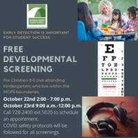 Free Developmental Screening