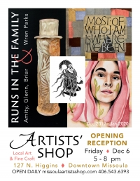 """Artists Shop - """"Runs in the Family"""" - The Parks Family"""