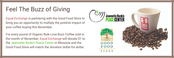 Feel the Buzz of Giving