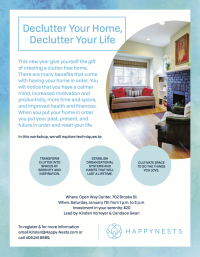 Declutter Your Home, Declutter Your Life Workshop