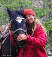 Nancy Pfeiffer - Riding Into the Heart of Patagonia