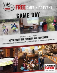 RMEF Kids Event    Game Day