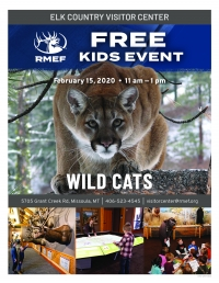 RMEF Kids Event - Wild Cats