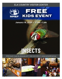 RMEF Kids Event - Insects!
