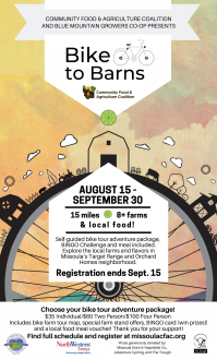 Bike to Barns Tour